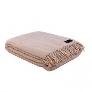 Svetlo hnedá vlnená deka