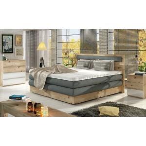 Dubová čalúnená posteľ...