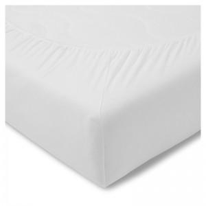 Froté plachta biela s gumičkou