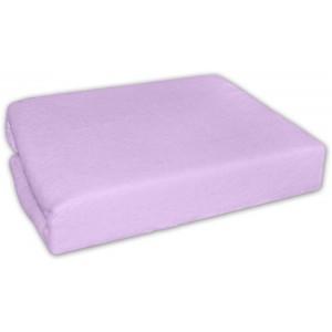 Froté plachta lila s gumičkou