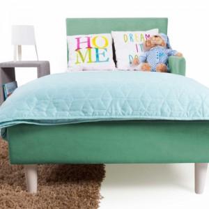 Detská čalúnená posteľ s...