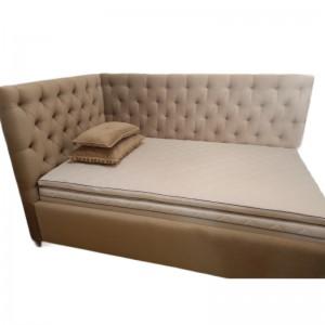 Rohová čalúnená posteľ...